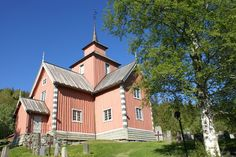 Vinje church is a cruciform church from 1796, in Telemark, Norway
