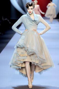 galliano couture | John Galliano for Christian Dior Haute Couture Spring 2011 : Swing ...