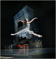 """Royal Danish Ballet in 'A Folk Tale' and 'Napoli' - NYTimes.com - Per Morten Abrahamsen Susanne Grinder as Hilda in """"A Folk Tale,"""" by Bournonville, in a Royal Danish Ballet production."""