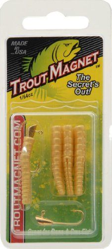Leland Lures E.F. Lead Free Trout Magnet Jig Head, Mealworm *** Check this awesome product by going to the link at the image.