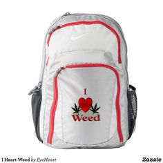 I Heart Weed Backpac