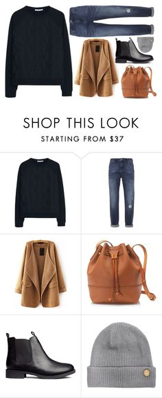 """""""Untitled #627"""" by kenbou1003 ❤ liked on Polyvore featuring MANGO, Mint Velvet, J.Crew, H&M and Vince Camuto"""
