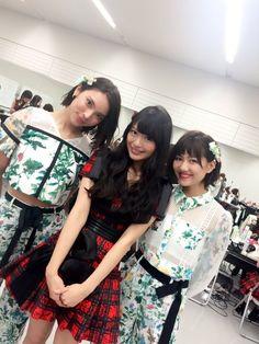 Sayaka, Kitarie and Sae #AKB48 #NGT48