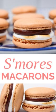 French Macaroon Recipes, French Macaroons, French Desserts, Just Desserts, Delicious Desserts, Yummy Food, Recipes Of Desserts, Baking Desserts, Tasty