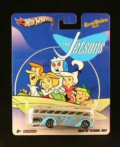 SURFIN' SCHOOL BUS * THE JETSONS * Hanna-Barbera Presents Hot Wheels 2011 Nostalgia Series 1:64 Scale Die-Cast Vehicle by Mattel, http://www.amazon.com/dp/B007FF1VU6/ref=cm_sw_r_pi_dp_IbqLrb1QJFNX7