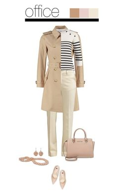 Office outfit: Nude - Beige by downtownblues on Polyvore featuring polyvore fashion style Högl Carolina Bucci Filippa K clothing Spring officewear spring2016