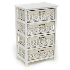 wilko split wood storage unit 4 drawer at. Black Bedroom Furniture Sets. Home Design Ideas