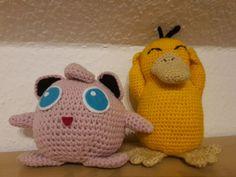 Psyduck and Jigglypuff Enton und Pummeluff