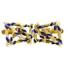 Google Image Result for http://raymondleejewelers.net/blog/wp-content/uploads/2012/07/14K-Yellow-Gold-and-Blue-Enamel-Cufflinks.jpg