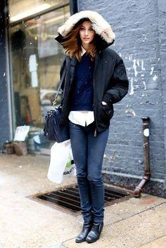New York Fashion Week Street Style Fall 2013: Alana Zimmer