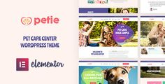 Buy Petie - Pet Care Center & Veterinary WordPress Theme by Opal_WP on ThemeForest. Perfect Pet Services & Pet Care WordPress Theme Petie is a well-designed Pet Care Center WordPress theme. Template Wordpress, Tema Wordpress, Wordpress Theme, Animal Care Hospital, Kennel Training A Puppy, Dog Training Courses, Pet Hotel, Animal Shelter, Pet Shelter