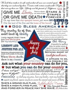 50 Independence Day (July 4th) Free Printables   Craftionary