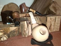 Tobacco pipes local wood