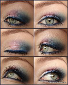 Cream Eyeshadow Video Makeup Tutorial (MAC Shadesticks) http://www.magi-mania.de/creme-eyeshadows-rule-shadestick-look/