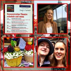 Woking Food & Drink Festival & meeting Frances Quinn