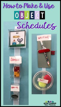 Do you have students who might benefit from using object schedules or using objects to communicate?  I'm sharing different types of object schedules including how to help students make the shift to visual schedules.  Ideas for individuals with autism, intellectual disabilities, and a few about those with visual impairments.