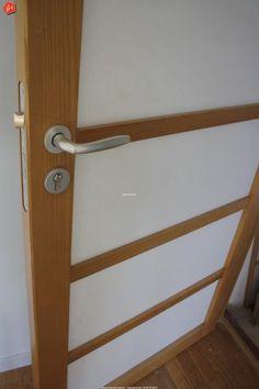 portes japonaises dans une salle de bain cloison japonaise coulissante et porte pinterest. Black Bedroom Furniture Sets. Home Design Ideas