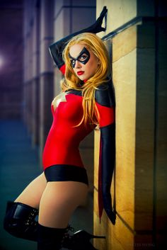 Moonstone as Ms. Marvel by *crystalcosfx on deviantART