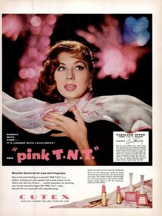 Hey, I found this really awesome Etsy listing at https://www.etsy.com/listing/281701276/1956-suzy-parker-cutex-pink-lipstick-tnt