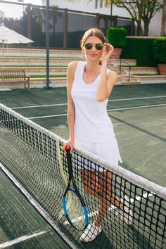 The Summer 2019 Lifestyle Guide from Tuckernuck. Tuckernuck sells classic, American men and women's quality preppy clothing, shoes, and accessories brands, rich in history and design. Tennis Senior Pictures, Tennis Photos, Senior Photos, Tennis Dress, Tennis Clothes, Tennis Outfits, Fitness Pictures Women, Tennis Photography, Nike Skirts