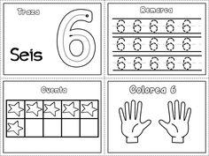 Grafomotricidad números del 1 al 10 – Imagenes Educativas Free Kindergarten Worksheets, Kindergarten Lessons, Preschool Math, Music Lesson Plans, Bilingual Education, Learning Numbers, Montessori Activities, Things To Think About, Blog