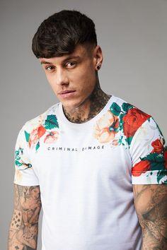 Hans Tee - White/Multi - T-Shirts & Vests - Men's East London Streetwear Since 1991