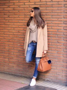 Blush Cable Knit Cowl Neck Sweater