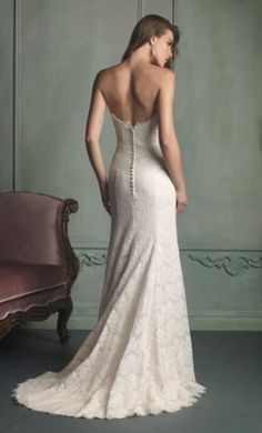 Allure Bridals 9107: buy this dress for a fraction of the salon price on PreOwnedWeddingDresses.com