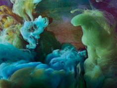 Underwater Art: Artist Kim Keever drops paint into water and photographs the spectacular results