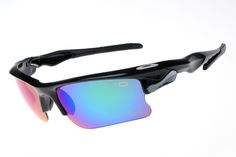 Oakley Star of Sunglasses Black Frame Rainbow Lens B74 [OK1185] - $21.88 : Top Ray-Ban® And Oakley® Sunglasses Online Sale Store- Save Up To 85% Off