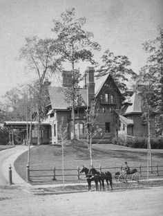 """""""To us our house was not unsentient matter - it had heart and a soul and eyes to see us with; and approvals, and solicitudes, and deep sympathies, and we were in its confidence, and lived in its grace and in the peace of its benediction. Mark Twain, Hartford home"""