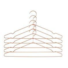 Hang bøjle 5-pak, kobber i gruppen Indretningsdetaljer / Opbevaring / Knager & Stumtjenere hos ROOM21.dk (115464)
