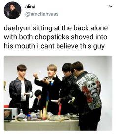 Someone give him his food #bap #bestabsoluteperfect #jungdaehyun #daehyun #kpop #baby