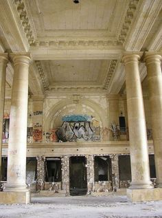 Detroit Michigan Central Station Interior