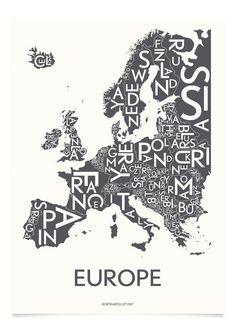 Poster Europa   Wander & Co
