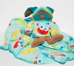 Something Fishy Security Blanket Baby by TwistedKnickersInc, $59.00