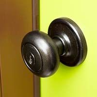 How To: Update Door Hardware with Paint Quick redo and upgrade to the Rubbed Bronze finish.