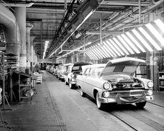 Ford Assembly Line 1955.