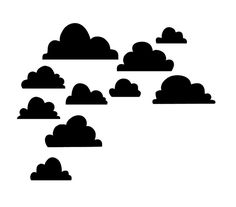 Clouds | free SVG file #CutFile