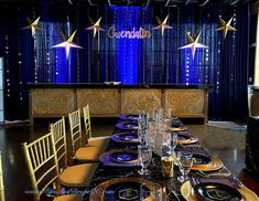 Starry night themed Quinceanera party at The Metro Ale House. Navy blue velvet drapes were perfect for this candy buffet. Reception Decorations, Event Decor, Wall Drapes, Wedding Draping, Velvet Drapes, San Diego Area, Pipe And Drape, Quinceanera Party, Sweetheart Table