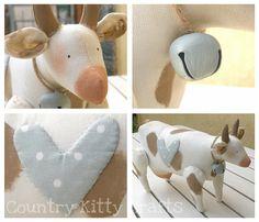mucca Tilda collage