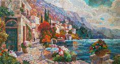 Мозаичная Картина Адриатический пейзаж