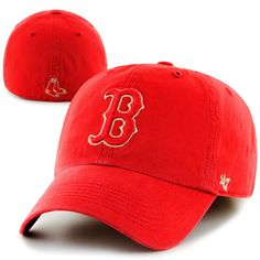 3600dea94ff Red Sox McKusick Red Rock Franchise Hat. Made from light canvas. Our  relaxed cap