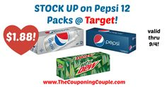 WOW!! Don't miss out on this one!! *HOT* Pepsi 12 Packs Only $1.88 @ Target!  Click the link below to get all of the details ► http://www.thecouponingcouple.com/hot-pepsi-12-packs-only-1-88-target/ #Coupons #Couponing #CouponCommunity  Visit us at http://www.thecouponingcouple.com for more great posts!