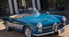 Alfa Romeo 2000 Spider 1962.