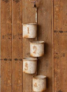 Antique Farmhouse, Farmhouse Decor, Glass Milk Bottles, Wire Baskets, Accent Pieces, Faucet, Planters, Gallery Wall, Wall Decor