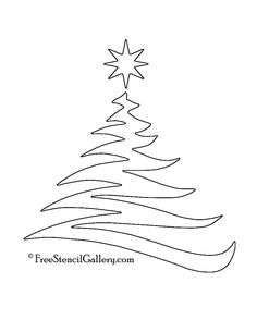 4 Best Images of Christmas Tree Stencil Printable - Christmas Tree Stencil to Print, Free Printable Christmas Tree Stencils and Free Printable Christmas Tree Stencils Christmas Tree Stencil, Christmas Tree Template, Christmas Tree Drawing, Christmas Tree Pattern, Free Christmas Printables, Diy Christmas Cards, Christmas Art, Christmas Tree Outline, Christmas Tree Printable
