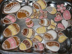 Velikonoční perníčky Muffin, Sugar, Cookies, Breakfast, Desserts, Food, Scrappy Quilts, Crack Crackers, Morning Coffee