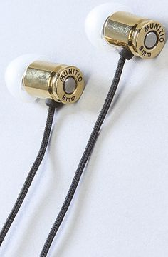 Munitio earphones - Cool Stuff