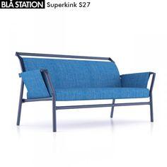 Superkink Sofa Bla Station 3D Model .max .c4d .obj .3ds .fbx .lwo .stl @3DExport.com by senoldogan